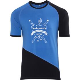 Directalpine Flash BCS 1.0 T-Shirt Herren blau/schwarz erb